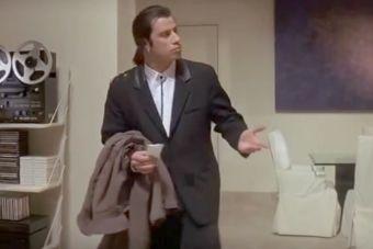 ¿Cómo nació el GIF de Travolta confundido?