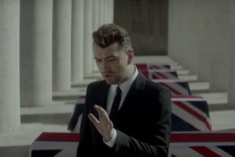 Lanzan videoclip del tema que Sam Smith interpreta para 'James Bond'