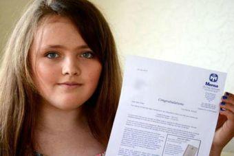 Esta niña de 12 años superó el coeficiente intelectual de Einstein y Stephen Hawking