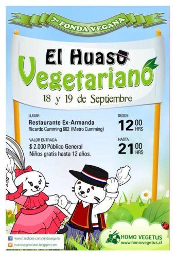 7ma versión de la 'Fonda Vegana' en barrio brasil