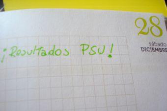 A contar los días: resultados de la PSU se conocerán el 28 de diciembre