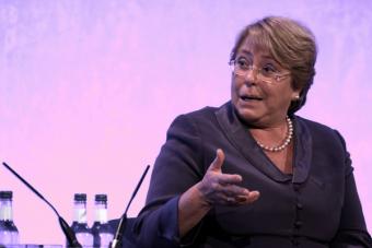 Bachelet respecto a la Reforma Educacional: