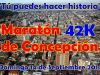 Maratón de Concepción  - 14 de Septiembre 2014