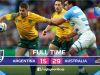Mundial de Rugby 2015: Australia 29 - 15 Argentina