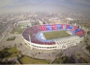Revelan detalles del posible estadio de U. de Chile