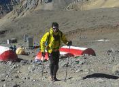 Killian Jornet intenta batir récord en el Aconcagua por segunda vez