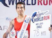 Chileno obtiene segundo lugar mundial en Wings For Life