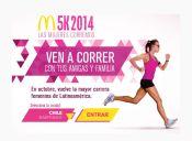 Las mujeres corremos: Corrida McDonald's 5 km - 26 de octubre 2014