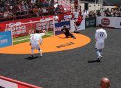 Chile comienza con el pie derecho en Mundial de Fútbol Calle