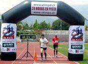 La osadía de correr 24 horas en pista