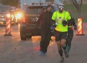 El estadounidense que corrió dos maratones en un día