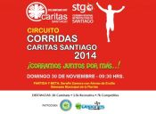 Circuito Corridas Caritas Santiago 2014 - 30 de noviembre 2014