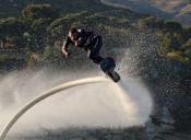 Hoverboard, un deporte para volar sobre el agua