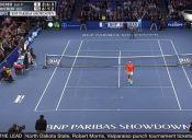 [Videos] El niño que sorprendió a Roger Federer