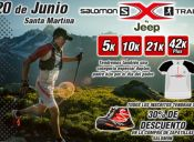 Salomon X Trail Santa Martina - 20 de junio 2015