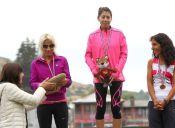 Giselle Álvarez, la nueva promesa del atletismo nacional