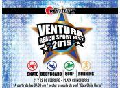 Arica se llena de deporte con el Ventura Beach Sport Fest 2015