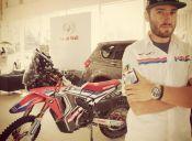 Piloto nacional Jeremías Israel fue despedido de Honda a meses del Dakar 2016
