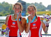 El remo entregó medalla de plata para Chile en Toronto 2015