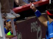 [Video] Pelea entre Rafael Nadal y Fabio Fognini