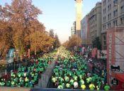 Maratón de Santiago entregó beca a seis atletas