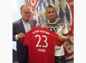 Oficial: Arturo Vidal traspasado al Bayern Múnich