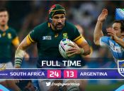 Mundial de Rugby 2015: Sudáfrica 24 - 13 Argentina