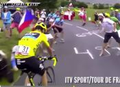 [Video] Escupos e Insultos a  Chris Froome en el Tour de Francia