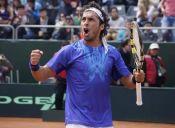 Gonzalo Lama subió 28 puestos en el Ranking ATP