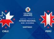 Chile vs. Perú - Copa América 2015