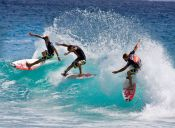 Se pospone Eddie Aikau Quiksilver donde participa el surfista chileno Ramón Navarro.