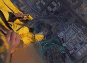¡Increíble! vídeo de 360º muestra salto desde el Burj Khalifa