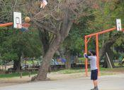 El Parque O´Higgins, un buen lugar para el básquetbol y otros deportes