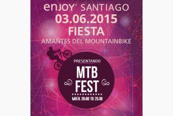MTB Fest se toma el Enjoy Santiago
