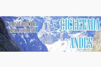 Cicletada por la Cordillera de Los Andes - 21 de diciembre 2014