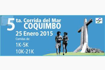 Corrida del Mar Coquimbo - 25 de enero 2015