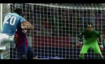 Error de Claudio Bravo en derrota del Barcelona