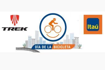 Ciclistas se toman Santiago en el Día de la Bicicleta