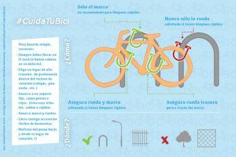 ¿Cómo asegurar tu bicicleta?