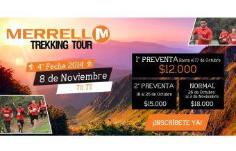 Merrell Trekking Tour - 8 de noviembre 2014