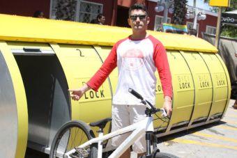 Municipio de Quilpué instala novedoso estacionamiento de bicicletas