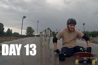 [Video] Aprendiendo a andar en skate en 15 días