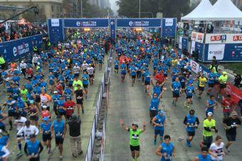 El proyecto que busca encontrar a jóvenes talentosos para el Entel Maratón de Santiago