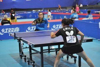 Tenis de mesa chileno brilla en torneo clasificatorio a Toronto