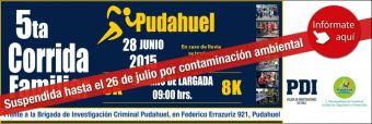 5ta Corrida Familiar Pudahuel PDI - 26 de Julio 2015