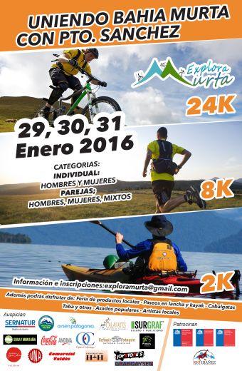 Explora Murta 2016 - 30 y 31 de enero 2016