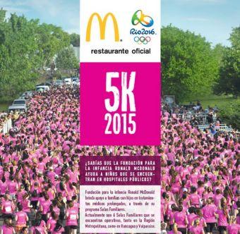 McDonald's 5K Las Mujeres Corremos - 4 de Octubre 2015
