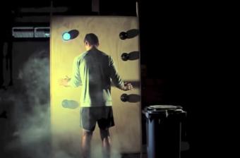 Deportistas de elite usan luces para entrenar