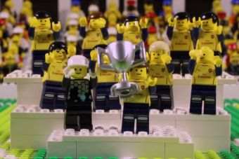 [Videos] Goles del Arsenal en la final de la FA Cup recreados en Lego