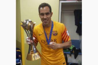 Claudio Bravo campeón mundial de clubes